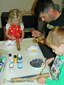 Montessori Columbus Day  activities at ChristianMontessoriNetwork.com