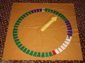 Circle of the Church Year example for DIY Godly Play materials from Megan on ChristianMontessoriNetwork.com