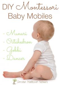 DIY Montessori Baby Mobiles
