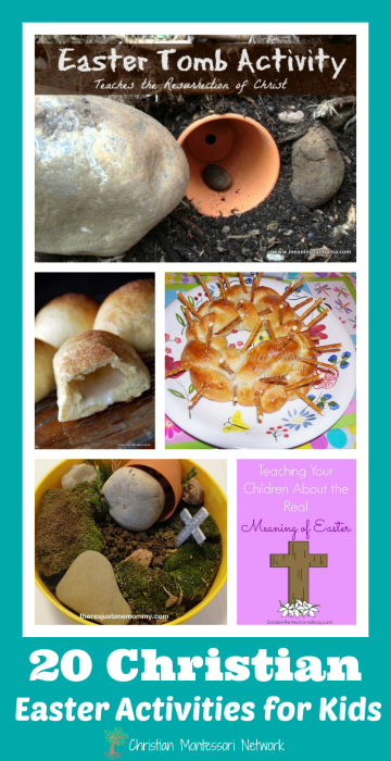 20 Christian Easter Activities for Kids - www.christianmontessorinetwork.com