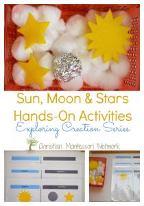 Sun, Moon, and Stars Hands-On Activities