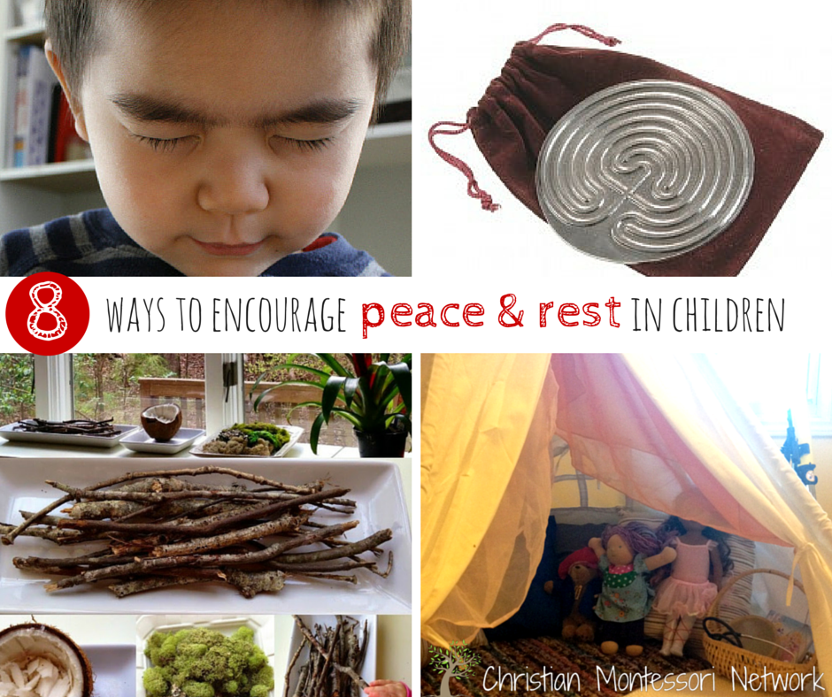 8 ways to encourage to encourage peace and rest in children
