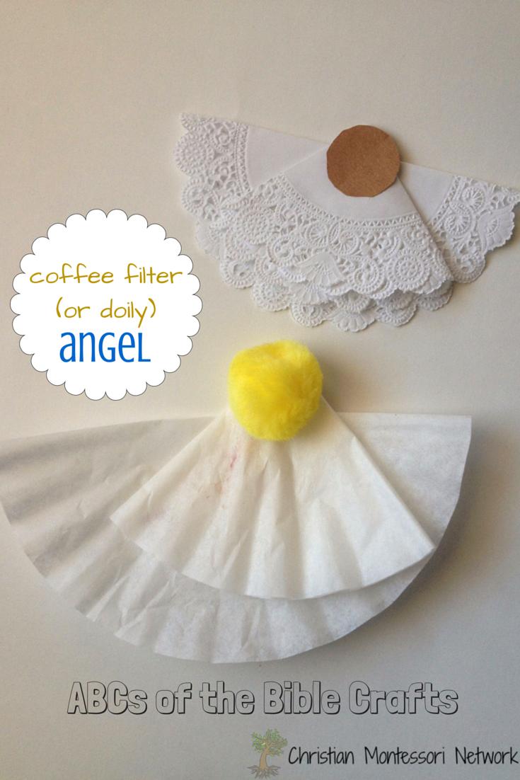 10 angel craft for kids bible craft ideas