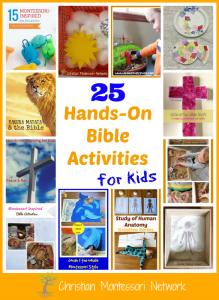 25 Hands-On Bible Activities for Kids