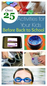 25+ Activities for Your Kids Before Back to School – Learn & Play Link Up