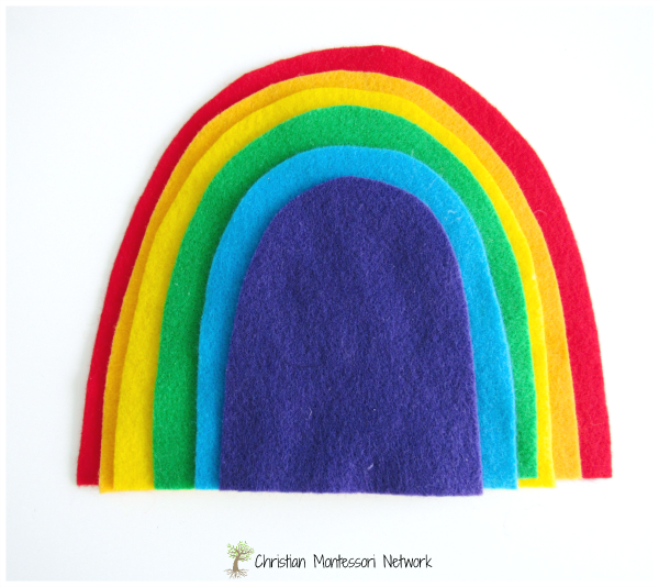 Rainbow - www.christianmontessorinetwork.com