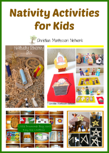 Nativity Activities for Kids {Learn & Play Link Up}