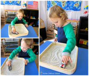Christmas Montessori Inspired Tot Trays