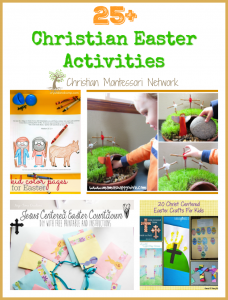 Christian Easter Activities {Learn & Play Link Up}