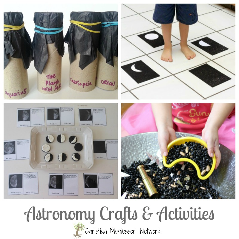 This is the perfect lesson for Christian homeschoolers teaching Christian astronomy. Find helpful crafts, activities, and printables to make teaching astronomy fun to Christian children!