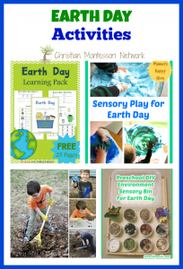 Earth Day Activities {Learn & Play Link Up}