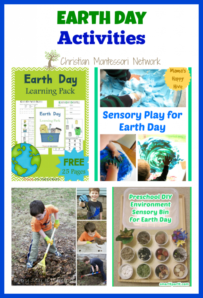 Earth Day is April 22nd this year. Earth Day is a fun holiday to celebrate with kids and open their eyes to being more Earth conscious. Here are several Earth Day activities your kids are going to love! - www.christianmontessorinetwork.com