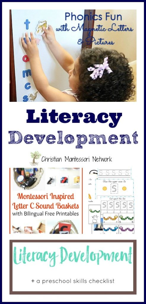 Make literacy development fun with these great activities. Don't miss some of the free printables in this week's edition of the Learn & Play Link Up on Christian Montessori Network.