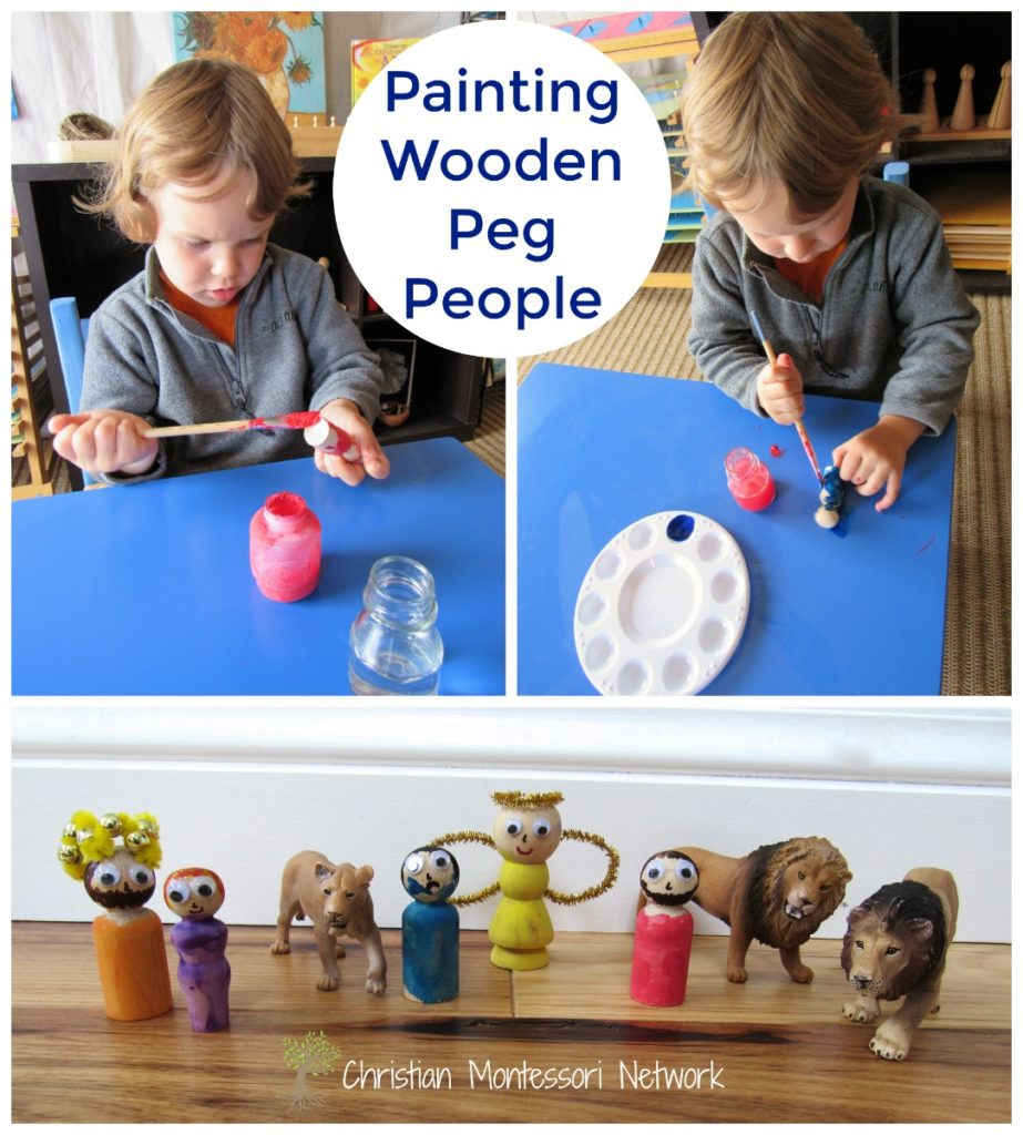 Painting People - www.christianmontessorinetwork.com