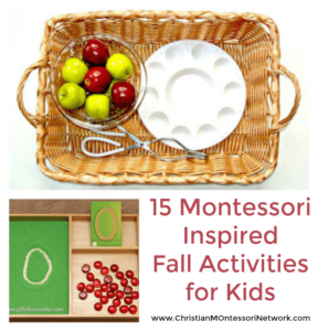 15 Montessori Inspired Fall Activities